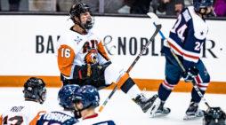 RIT men's hockey standout Erik Brown named NCAA First Star of the Week