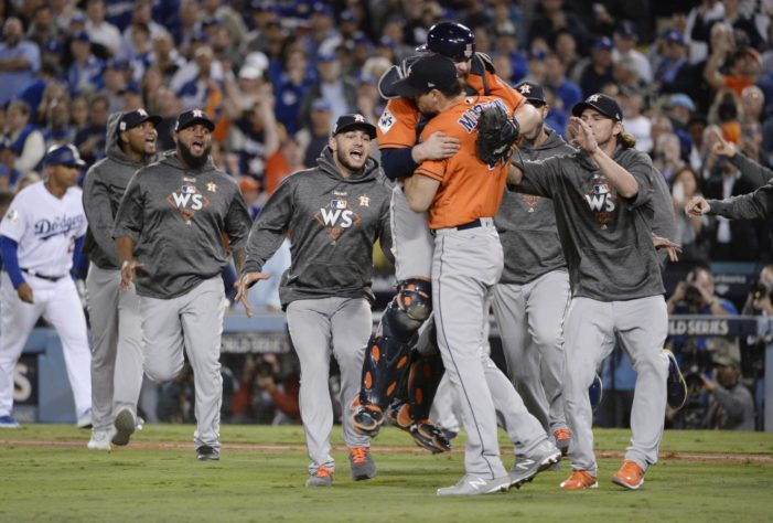 Houston Stronger: Astros claim World Series