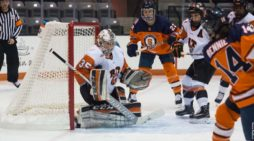 RIT women's hockey drops lone November home game to Syracuse