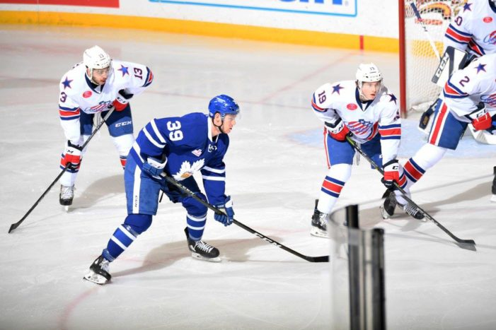 Amerks lose close battle of AHL titans
