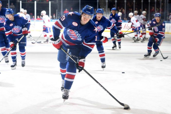 Amerks slumping at home, C.J. Smith slumping