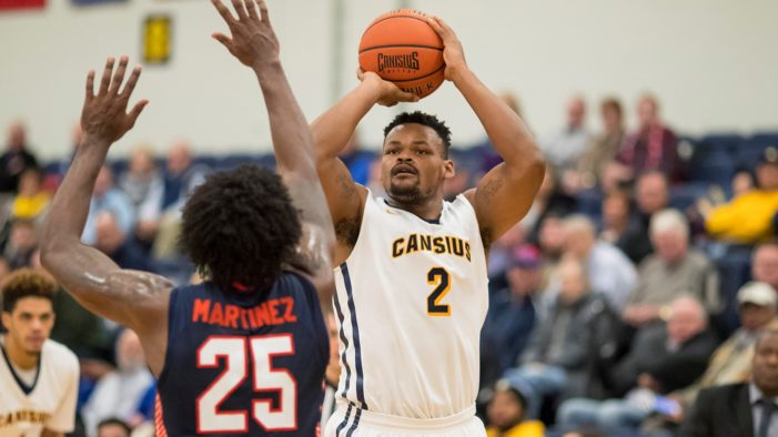 Canisius battles to 77-76 win over Rider