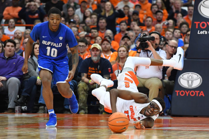 Second-half rally comes up short; UB falls at Syracuse