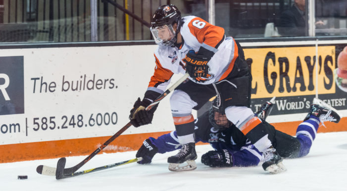 Gabe Valenzuela scores overtime winner to lift RIT over Robert Morris