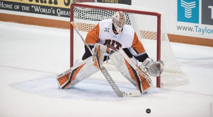 Short earns first collegiate shutout as men's hockey defeats No. 9 Providence