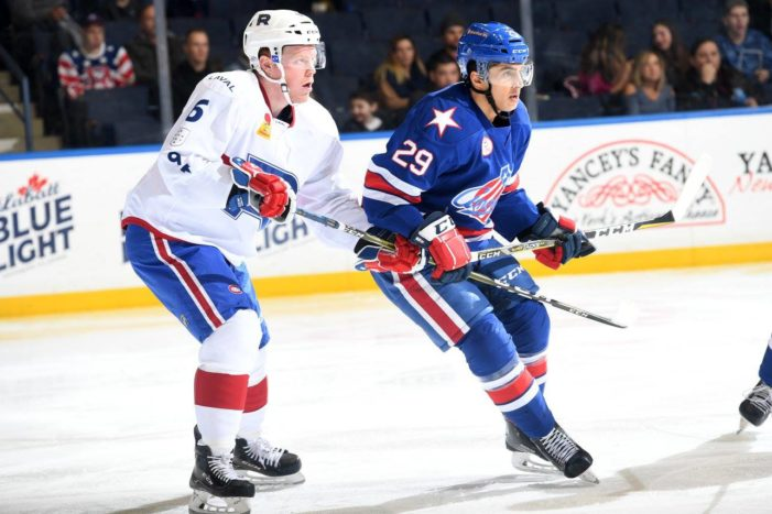 Gill exceeding expectations for Amerks