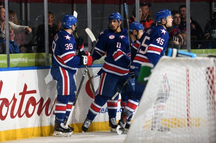 Amerks wrap up four-point weekend