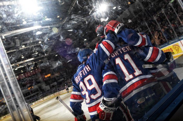 Four-goal third period sends Amerks to 5-2 win over Devils