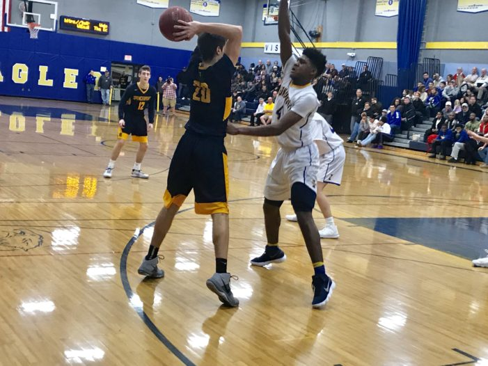 Stenglein posts career-high; Irondequoit overpowers Spencerport