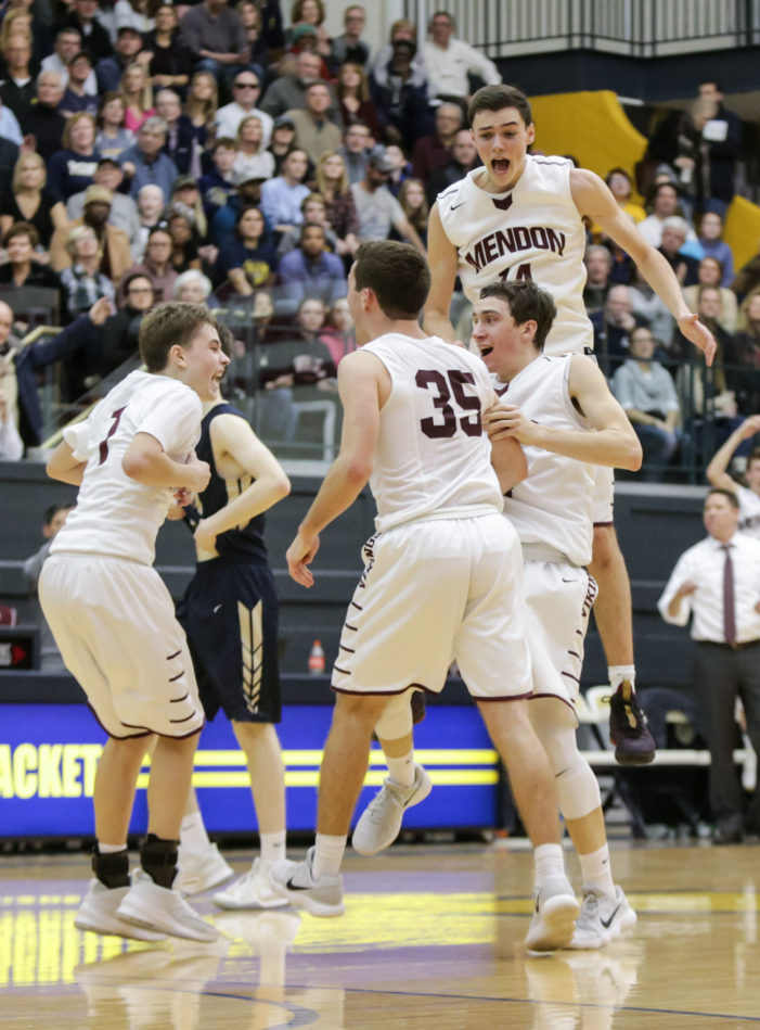 Section V Weekend Roundup: Mendon runs win streak to double digits; Leadership Academy continues roll