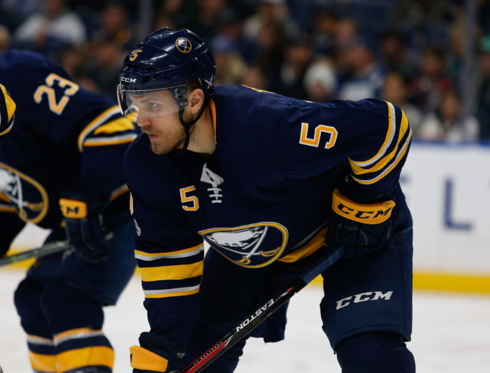 Sabres recall Tennyson from Rochester