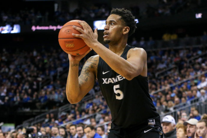 Xavier's Trevon Bluiett named to Midseason Oscar Robertson Trophy Watch List