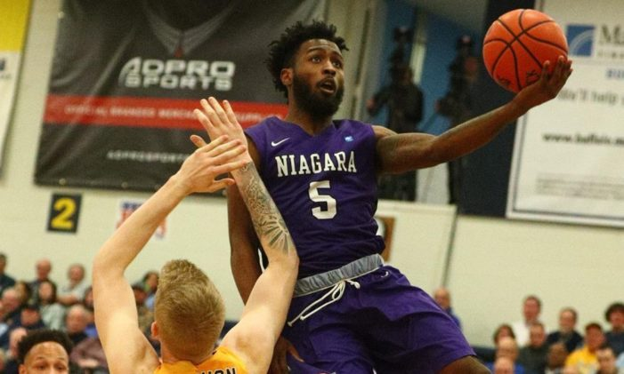 Hot shooting leads Niagara over Canisius