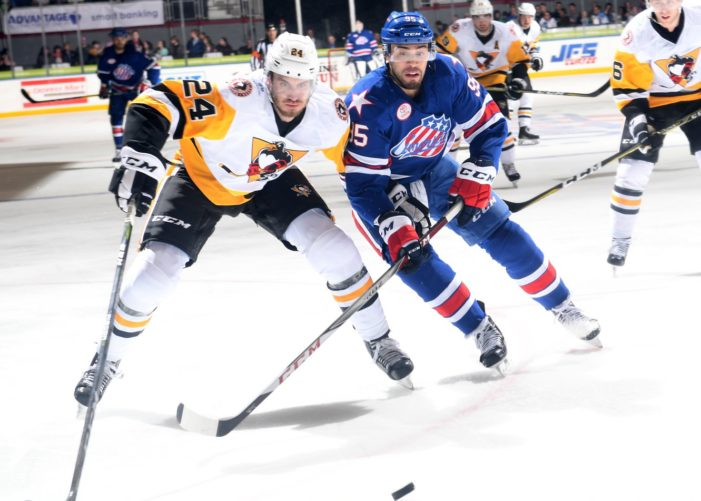 Blackwell's return provides major spark in Amerks' 12-3 rout