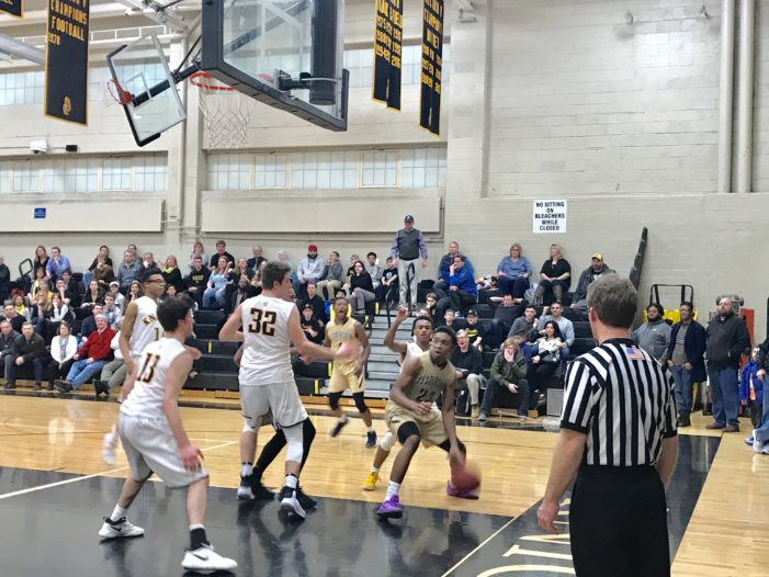 Ellis converts late free throws; Leadership claims at least a share of RCAC Division A