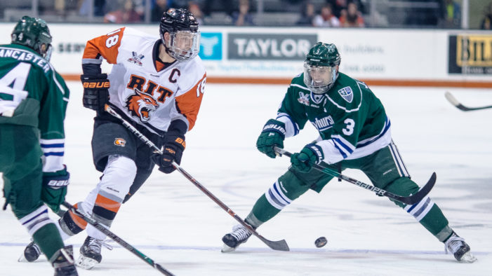 Home ice advantage? Not for RIT