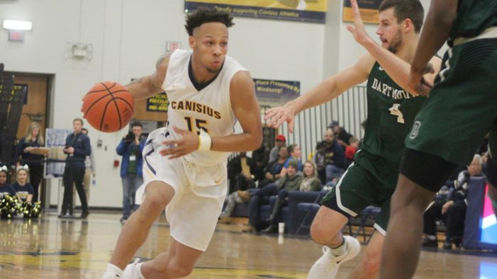 Holy Cross races back to beat Canisius
