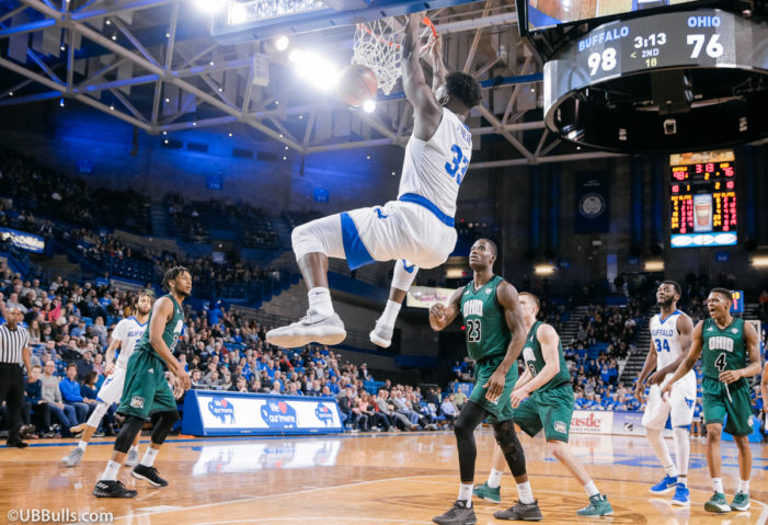 UB reaches season high in win over Ohio