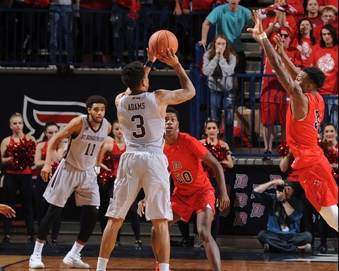 Adams career game powers Bona to 84-81 win at Duquesne