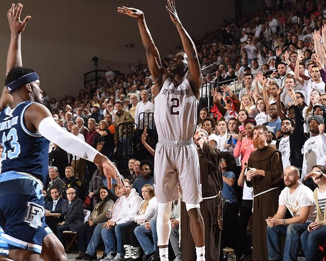 Bonnies outlasts Rhode Island to end nation's longest win streak