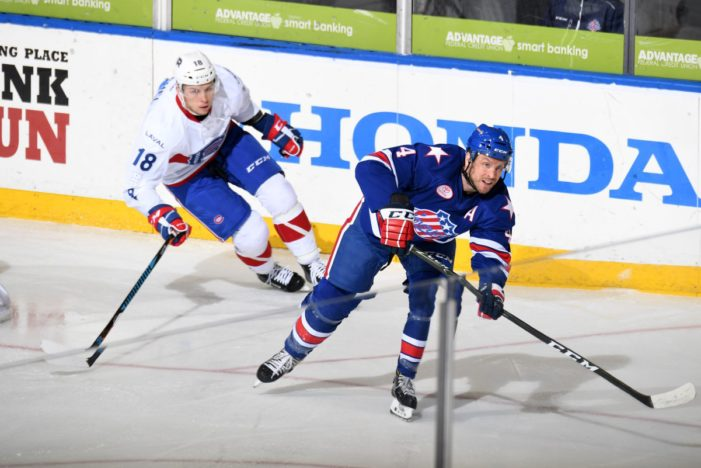 Nathan Paetsch named Amerks AHL Man of the Year