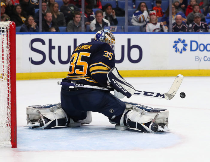 Sabres recall Ullmark from Rochester