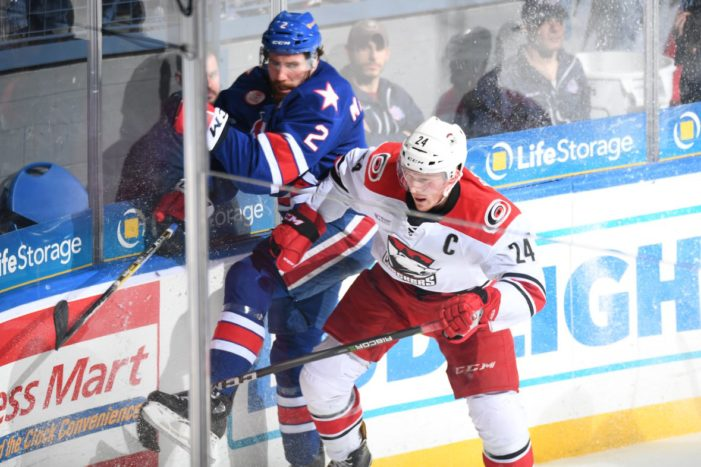 Amerks' MacWilliam slapped with 3-game suspension