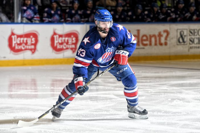 With playoffs just around the corner, Amerks lay an egg