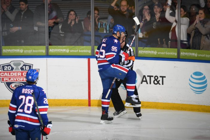Revitalized Bailey sparks Amerks to comeback victory
