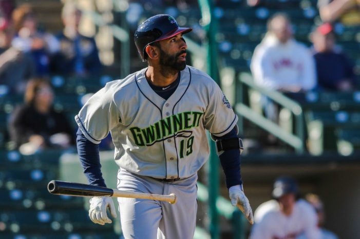 Bautista says he'll need more at-bats before he's MLB-ready