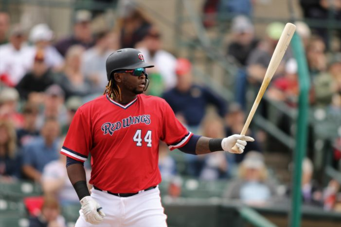 Sano: 2 more games with the Wings, then back to the Twins