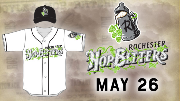 Red Wings to become the Hop Bitters on Saturday, May 26