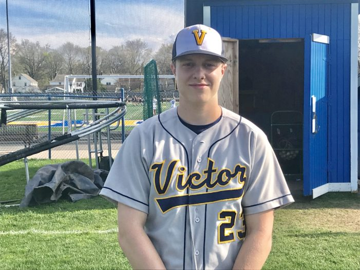 Schafer connects on a pair of grannies, leads Victor past Irondequoit