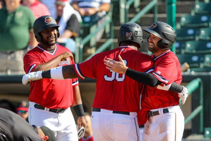 Wings pound out 15 hits in win at Durham