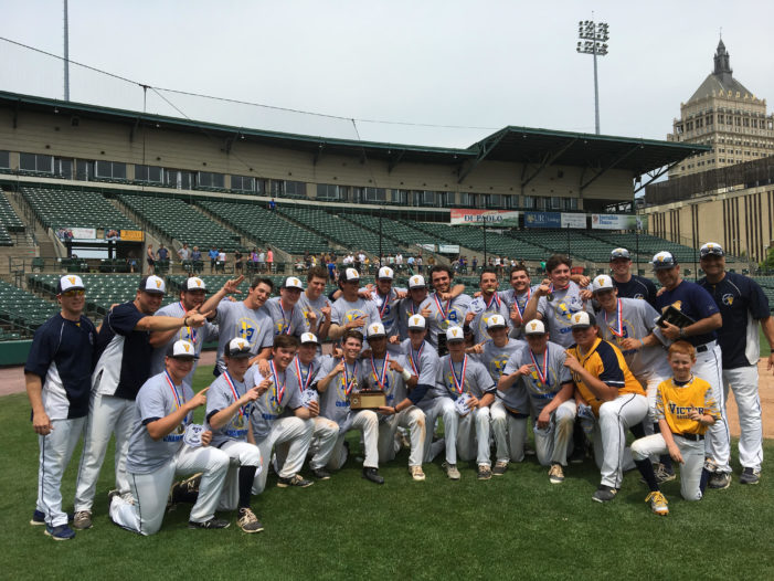 Victor walks-off for Section V Class AA title after late-inning heroics
