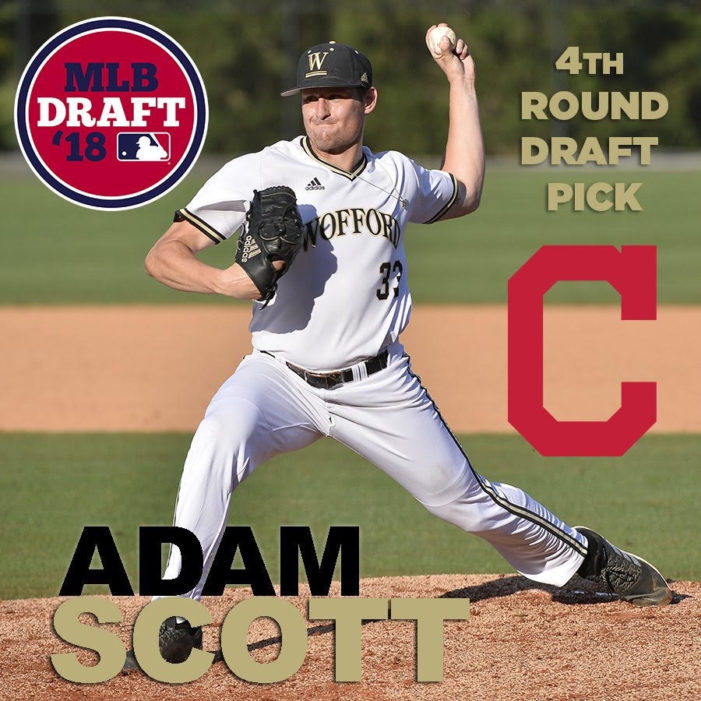 Wofford lefty, Canandaigua alum Adam Scott drafted by Cleveland Indians