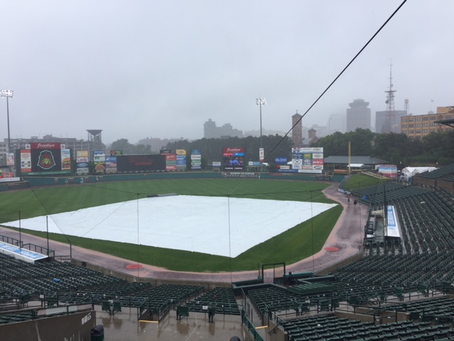 Red Wings/RailRiders suspended by rain