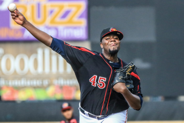 Pineda earns victory as Wings and Sox split doubleheader