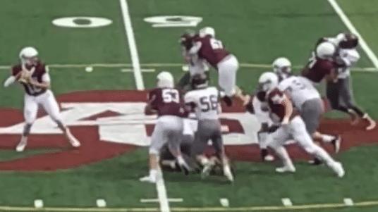 Aquinas's Air-Raid offense blitzes St. Joe's 49-21; Szalkowski 474 yards, 7 TDs