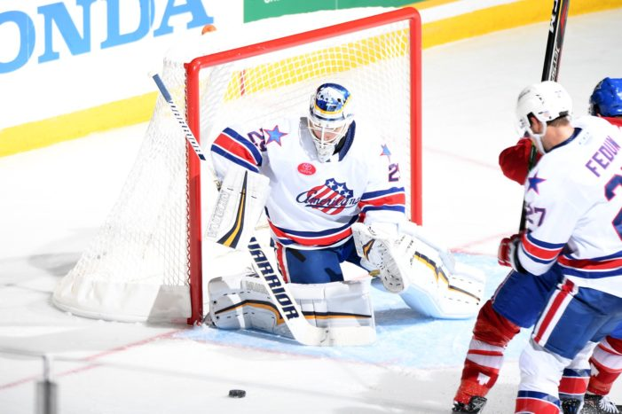 Wedgewood shines as Rochester Amerks win again