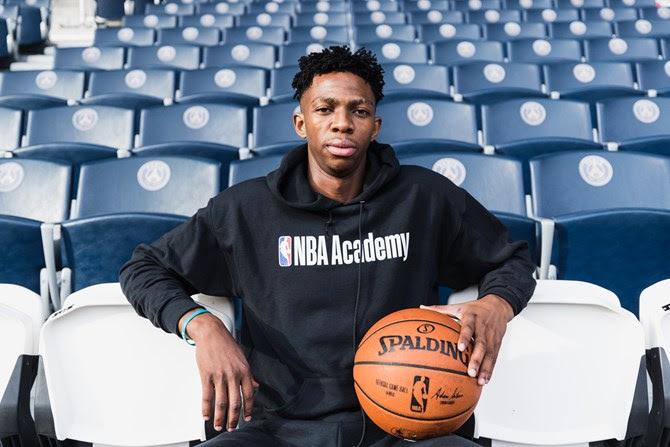 Patrick Mwamba: From the NBA Africa Academy to UT Arlington