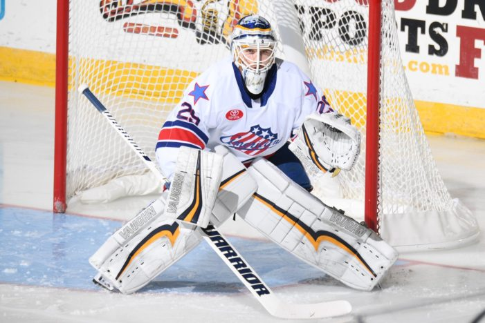Olofsson scores, Wedgewood shines as Rochester Amerks win