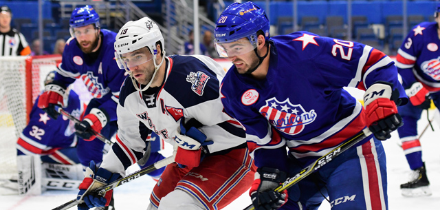Rochester Amerks rally in the the third to beat Hartford