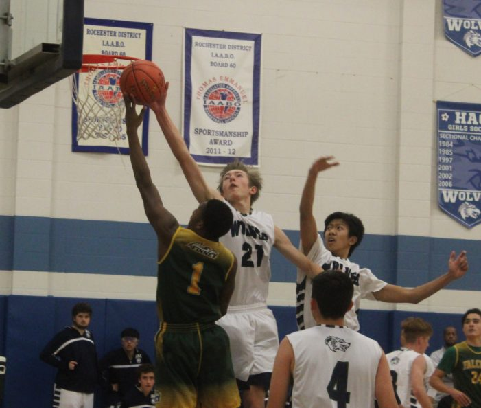 Finney Falcons soar over HAC, 71-39