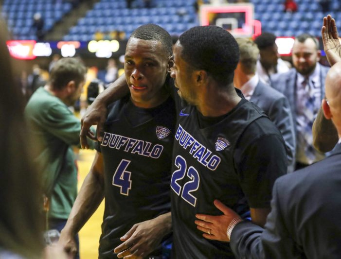 UB passes first test as nationally-ranked program, beats Southern Illinois, 62-53