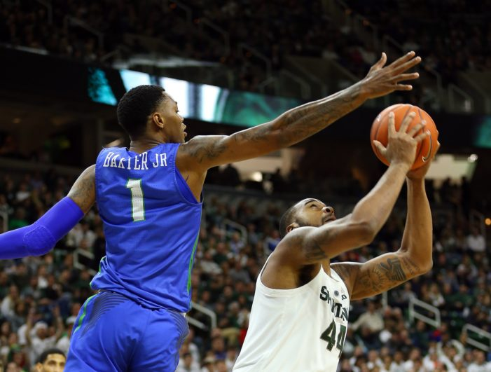 Carlyle, Baxter's career nights not enough in FGCU loss to No. 10 Michigan State