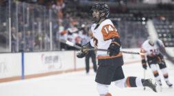 Hamacher no longer just a passing fancy for RIT hockey