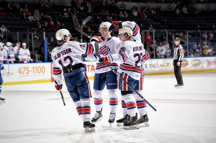 How Swede it is: Your Wednesday Amerks 6-pack