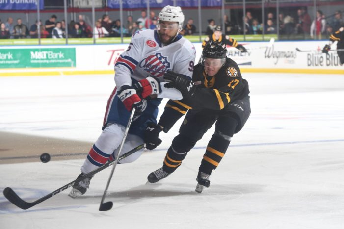 Rochester Amerks learn it's sometimes better to be lucky
