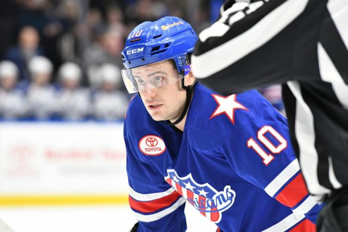 Amerks win third straight to close out the weekend